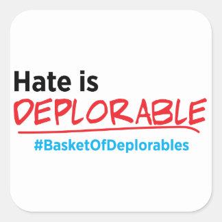 La haine est déplorable : Autocollant d'Anti-Atout