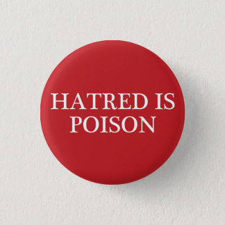 La haine est petit bouton de régulier-police de badges