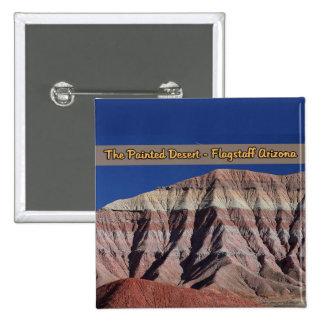 La hampe de drapeaux peinte Arizona de désert Badges