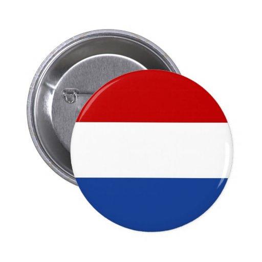 la Hollande Badges Avec Agrafe