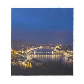 La Hongrie Budapest au panorama de nuit Blocs Notes