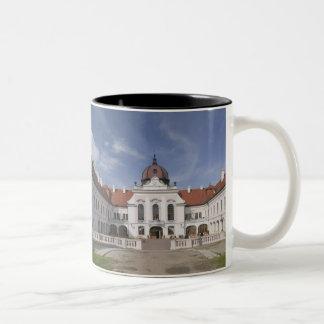 La Hongrie, Budapest, Godollo : Manoir royal, Mug Bicolore