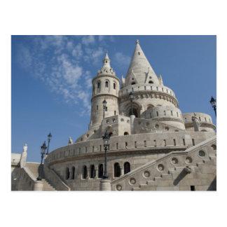 La Hongrie, capitale de Budapest. Buda, château 2 Cartes Postales