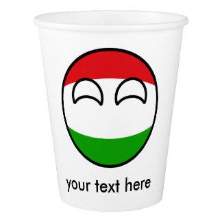 La Hongrie Countryball Gobelets En Papier
