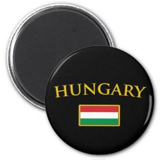 La Hongrie d'or Magnet Rond 8 Cm