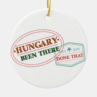 La Hongrie là fait cela Ornement Rond En Céramique