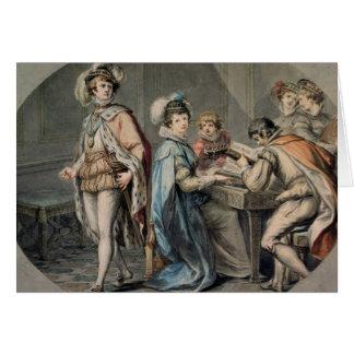 La jalousie de Darnley Carte De Vœux