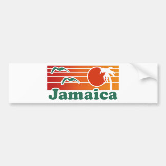 La Jamaïque Autocollant Pour Voiture