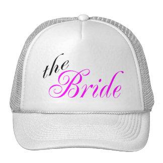 La jeune mariée casquette de camionneur