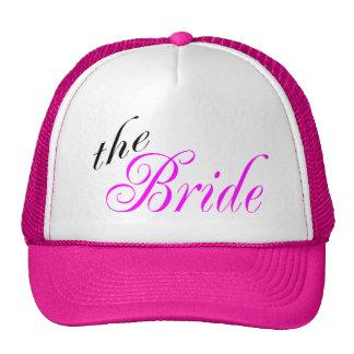 La jeune mariée casquettes de camionneur