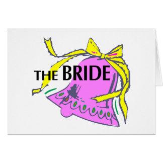 La jeune mariée (mariage Bell) Carte De Vœux