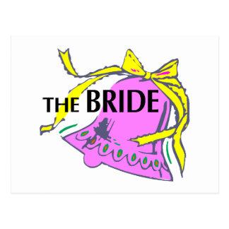 La jeune mariée (mariage Bell) Cartes Postales