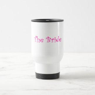 La jeune mariée mug de voyage en acier inoxydable