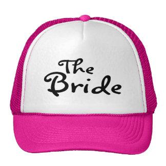 La jeune mariée noir casquette