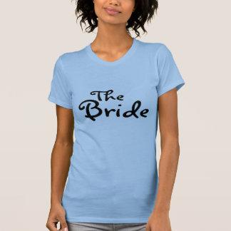 La jeune mariée (noir) t-shirts