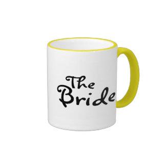 La jeune mariée (noir) tasse