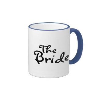La jeune mariée (noir) tasse à café