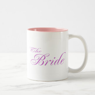La jeune mariée (pourpre) mug bicolore