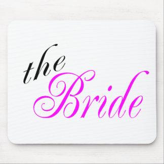 La jeune mariée tapis de souris