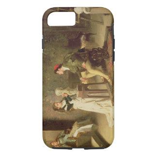 La jeune sculpteuse (huile sur la toile) coque iPhone 7