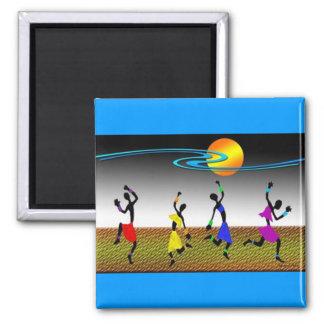 La joie de la danse magnet carré