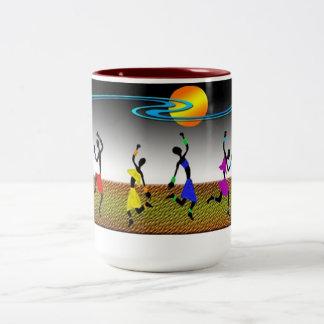 La joie de la danse tasse à café