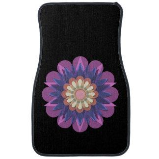 La jolie fleur 5 de la pluie tapis de sol