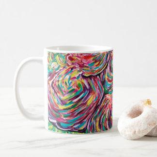 La jolie tasse de café, tasse artsy, peintres