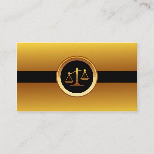 La Justice Dor Mesure Le Carte De Visite