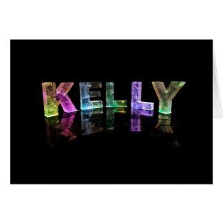 La Kelly nommée dans 3D s'allume (la photographie) Carte De Vœux