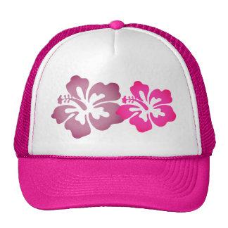 La ketmie pour la plage Girly fleurit le casquette