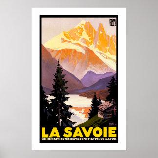 La la Savoie Affiche