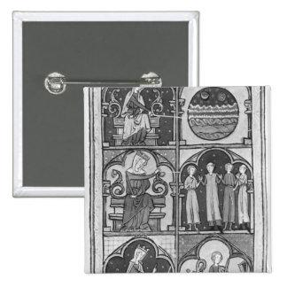 La la Somme le Roi', par Lambert le Petit, 1311 Badges Avec Agrafe