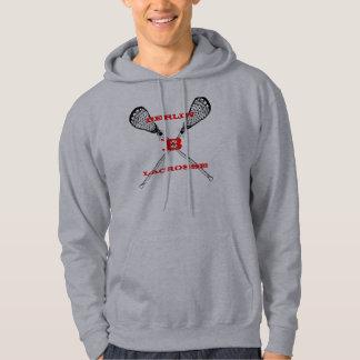 La lacrosse LAX colle le sweat - shirt à capuche 2
