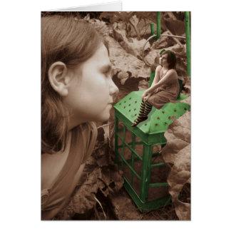 La lanterne verte carte de vœux
