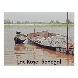 La laque s'est levée, Sénégal Carte Postale