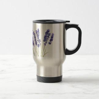 La lavande fleurit la lavande française mug de voyage