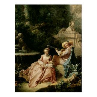 La leçon de musique, 1749 cartes postales