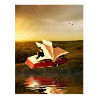 La lecture est magique - customisez-moi ! carte postale