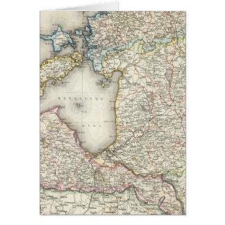 La Lettonie, Estonie Carte De Vœux