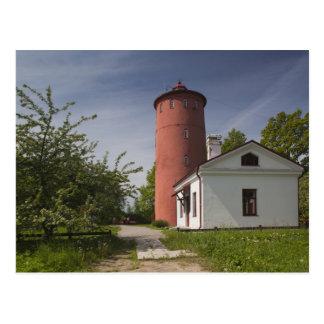 La Lettonie, Lettonie occidentale, région de Carte Postale