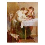 La lettre d'amour, 1871 cartes postales
