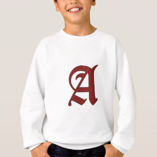La lettre d'écarlate sweatshirt