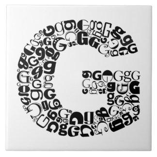 Lettre carreaux lettre carreaux en c ramiques - Carre blanc chaux ...