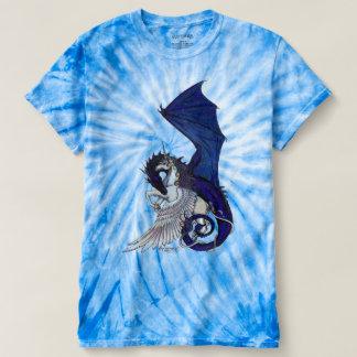 La licorne de vortex d'amour et la cravate de t-shirt