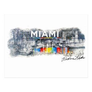 La ligne de Miami, Rockne Krebs, carte postale