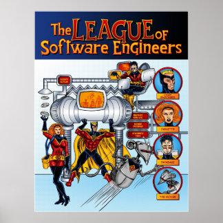 La ligue des Software Engineers Posters
