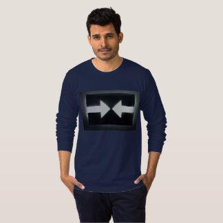 """La long-douille des hommes """"résistent"""" au T-shirt"""