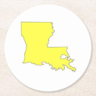 La Louisiane Dessous-de-verre Rond En Papier