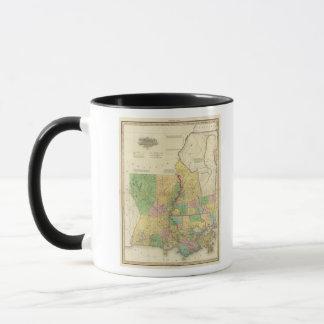La Louisiane et le Mississippi 2 Tasses
